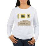 Tour your past Women's Long Sleeve T-Shirt