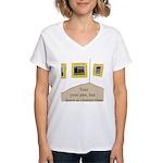 Tour your past Women's V-Neck T-Shirt