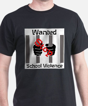 Stop School Violence MC White T-Shirt