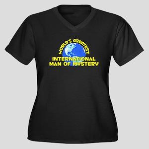 World's Greatest Inter.. (D) Women's Plus Size V-N