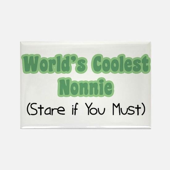 World's Coolest Nonnie Rectangle Magnet