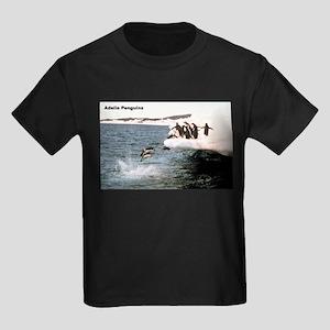 Adelie Penguins Ash Grey T-Shirt