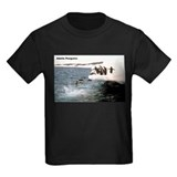 Adelie penguin Kids T-shirts (Dark)