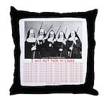 50 Times Throw Pillow