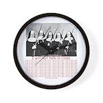 50 Times Wall Clock