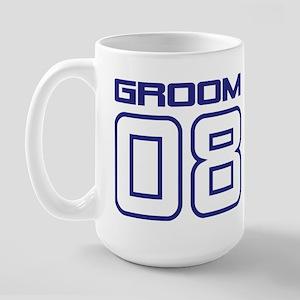 Bride Groom 08 Large Mug