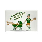 Happy St. Patrick's Day Rectangle Magnet (100 pack