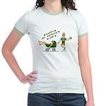 Happy St. Patrick's Day Jr. Ringer T-Shirt