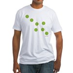 oddFrogg Green Dots Fitted T
