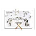 Masonic Invitations Postcards (Package of 8)