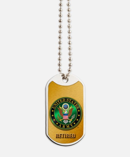 U.S. ARMY RETIRED Dog Tags