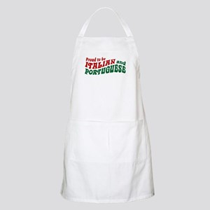 Proud Italian and Portuguese BBQ Apron