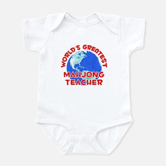 World's Greatest Mahjo.. (F) Infant Bodysuit