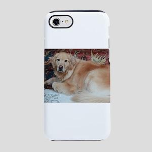 Nala relaxing near rug iPhone 8/7 Tough Case