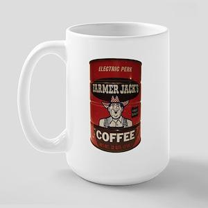 Vintage Coffee Can Large Mug