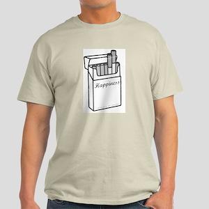 Cigarette Happiness Light T-Shirt