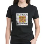 Quilters - Strings Attached Women's Dark T-Shirt
