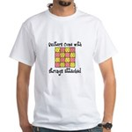 Quilters - Strings Attached White T-Shirt