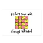 Quilters - Strings Attached Postcards (Package of