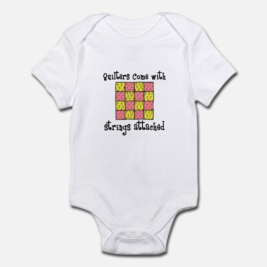 Quilters - Strings Attached Infant Bodysuit