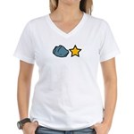 Rock Star Women's V-Neck T-Shirt