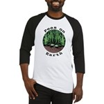 Peas On Earth Baseball Jersey