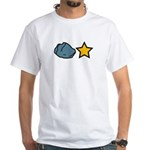 Rock Star White T-Shirt