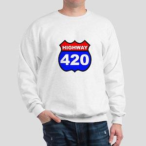 Highway 420 Sweatshirt