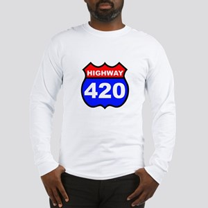 Highway 420 Long Sleeve T-Shirt