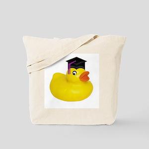 Ducky Graduation Tote Bag