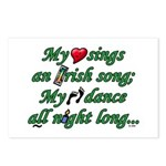 IRISH SONG Postcards (Package of 8)