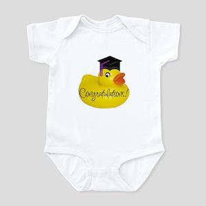 Ducky Congratulations! Infant Creeper