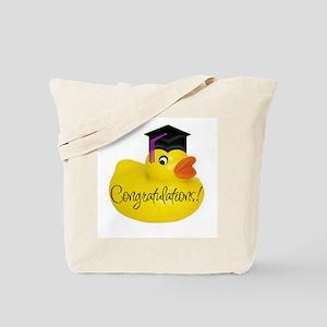 Ducky Congratulations! Tote Bag