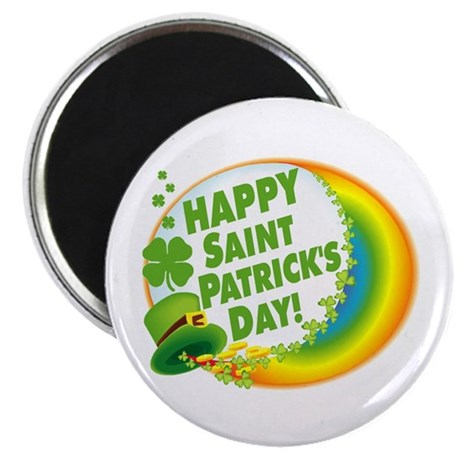 "Happy Saint Patrick's Day 2.25"" Magnet (100 pack)"