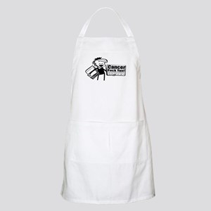 Cancer, Fuck You! BBQ Apron