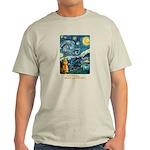 Starry Night - Light T-Shirt