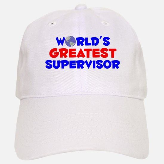 World's Greatest Super.. (A) Baseball Baseball Cap