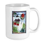 Bird Watching @ Heceta Lighthouse Large Mug