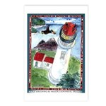Bird Watching @ Heceta Lighthouse Postcards (Packa
