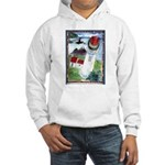 Bird Watching @ Heceta Lighthouse Hooded Sweatshir