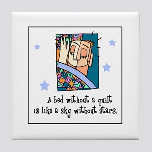Quilt - Stars Tile Coaster
