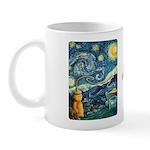 Starry Night Honey Mug