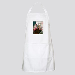 Quilters are Materialistic BBQ Apron