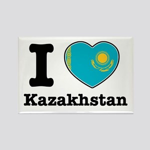 I love Kazakhstan Rectangle Magnet