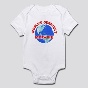 World's Greatest Midwife (F) Infant Bodysuit