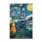 Starry Night Mini Poster
