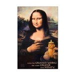 Mona Lisa Mini Poster
