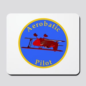Aerobatic Pilot - Eagle Mousepad