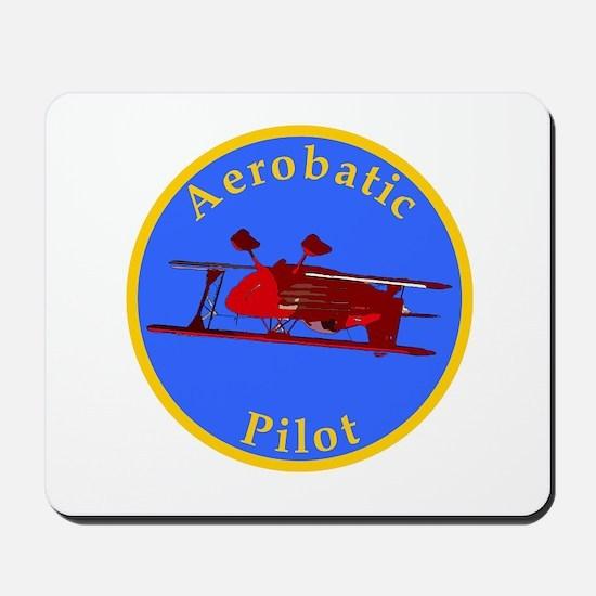 Aerobatic Pilot - Eagle Mousepad