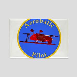 Aerobatic Pilot - Eagle Rectangle Magnet